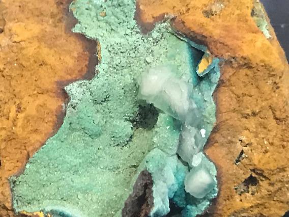 Rosasita Mineral De Colección Mina Ojuela Mapimí Durango