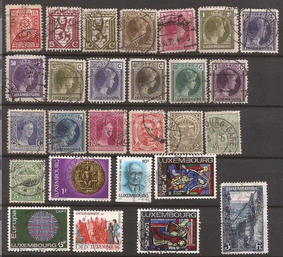 Luxemburgo 1926 - 27 Sellos Usados - 146