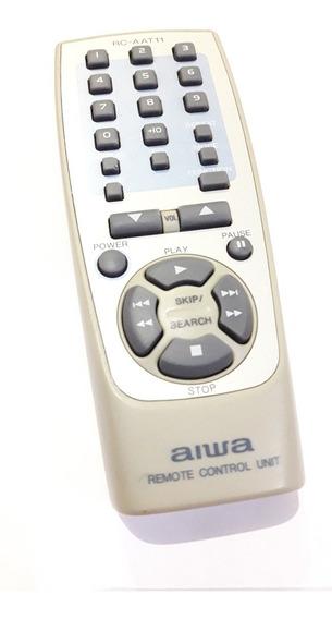 Controle Remoto Som Aiwa Rc-aat11 Rtu0051356u Original