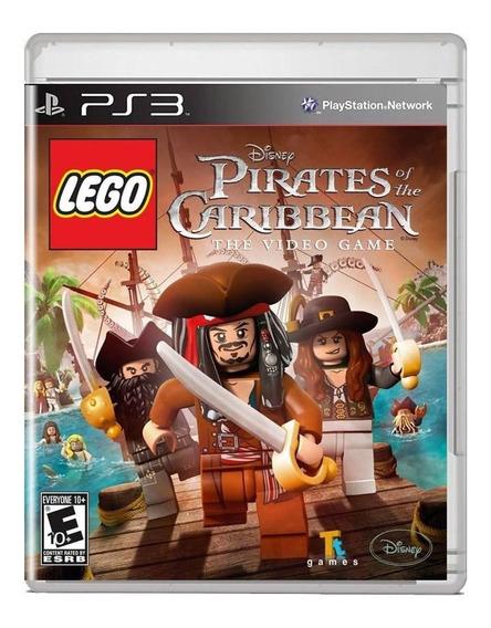 Lego Pirates Of The Caribbean Ps3 Midia Fisica