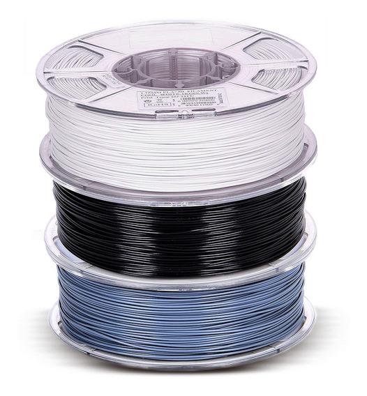 Filamento Pla+ Esun 1.75mm Impressão 3d - Kit 3kg