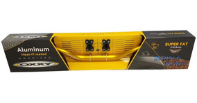 Guidão Oxxy Super Fat Bar Naked + Adaptador (dourado)