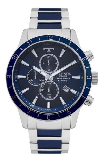Relógio Technos Masculino Ceramic Sapphire Js15fj/1a