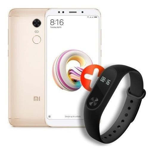 Xiaomi Redmi 5 Plus + Smartwach Mi Band 2