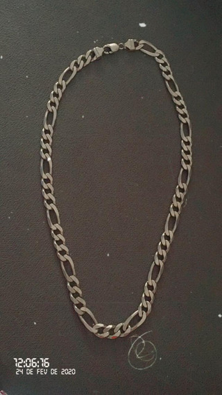Corrente De Prata Italiana 925 Kl. 150 Gramas 60 Centímetr