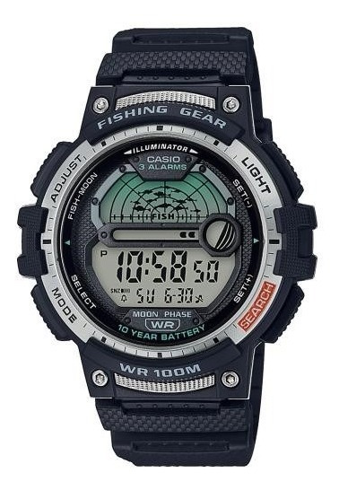 Reloj Casio Fishing Gear Ws-1200h Sports Gear