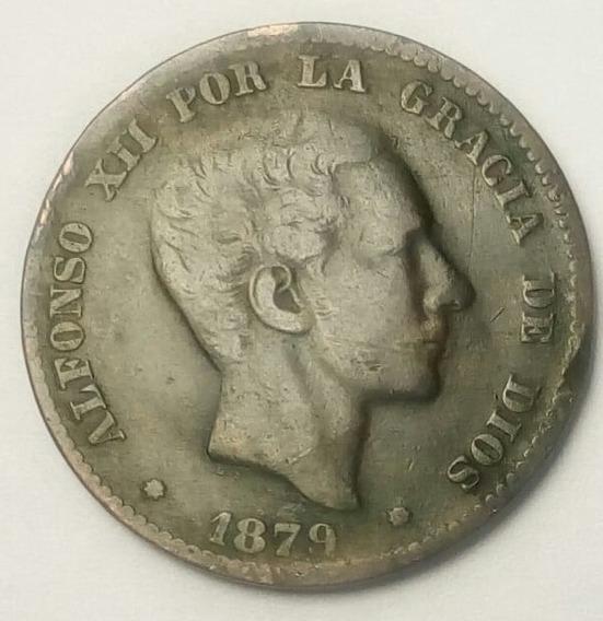 Moneds España 10 Centimos 1879 Alfonso Xii