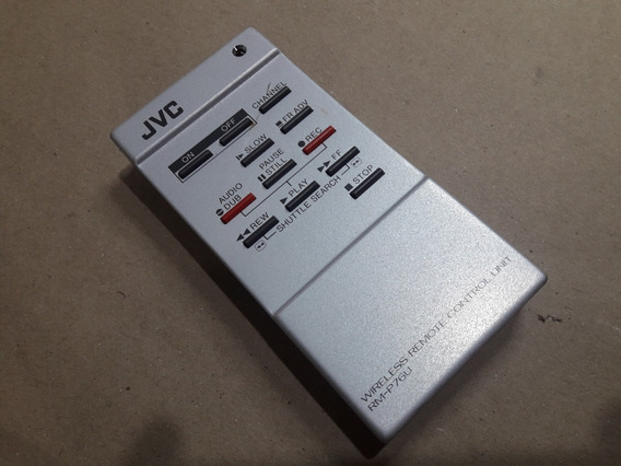 Controle Remoto Jvc Rm-p76u Original Do Vcr Br6200u