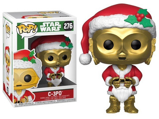 Funko Pop Star Wars Holiday - C3po #276 - Nuevo - Nextgames