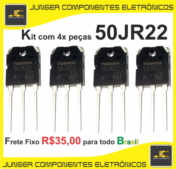 50jr22 - 50 Jr 22 - Kit Com 4x Peças
