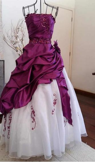 Vestido Debutante - 3 Peças