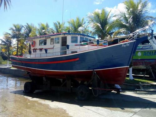 Barco De Madeira Traineira 40 Pés