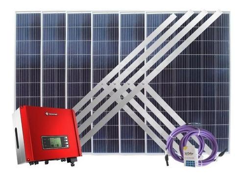 Kit Solar Paneles 8 X 330w On Grid Trifasico Inyeccion 3on