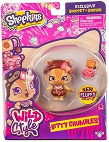 Shopkins Wild Estilo Kitty Se Derrumba Shoppet Y Camilla Gat