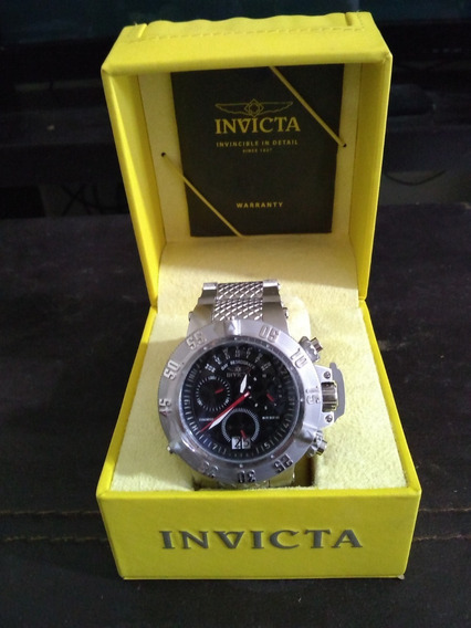 Reloj Invicta Subaqua De Cuarzo Multifuncion