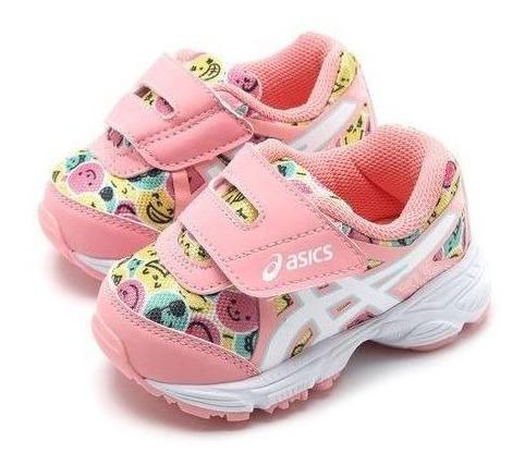 Tênis Asics Menina Sugar Baby 3 Ts Rosa Original