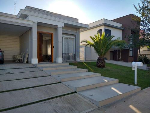 Casa Com 4 Dormitórios À Venda, 404 M² Por R$ 1.920.000,00 - Condomínio Terra Magna - Indaiatuba/sp - Ca11751