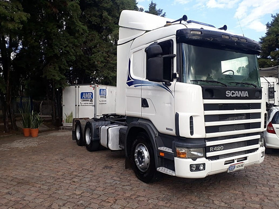 Scania R 124 6x2 420 Bom Estado Geral, Único Dono.mb Volvo