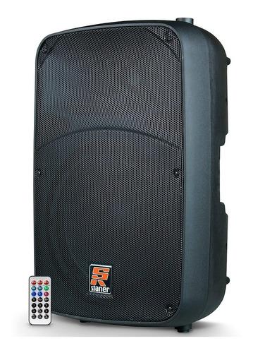 Imagem 1 de 4 de Caixa Ativa Bluetooth Staner Sr-315a 300w Promoção!