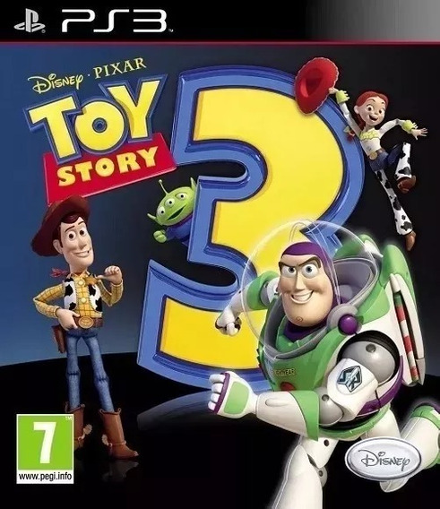 Toy Story 3 Ps3jogo Original Psn Ps3
