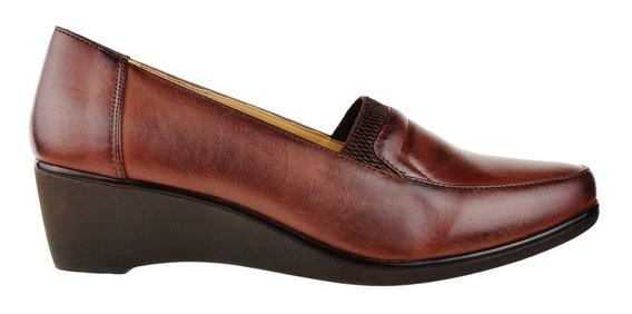 Zapato Mocasín Taco Corrido Korium Confort Elastizado - Tot