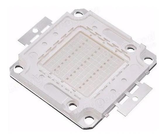 10 Chips Led 50w Para Reposição De Refletor 50w Rgb Colorido