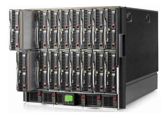 Blade Hp C7000 C/ 8 Lâminas Bl460c G8 128g 2 Xeon Octacore