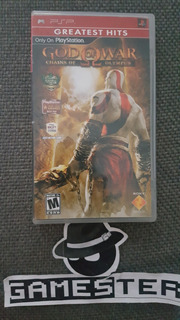God Of War Chains Of Olympus Playstation Portable
