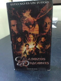 Calabozos Y Dragones-dungeons & Dragons-2000-vhs
