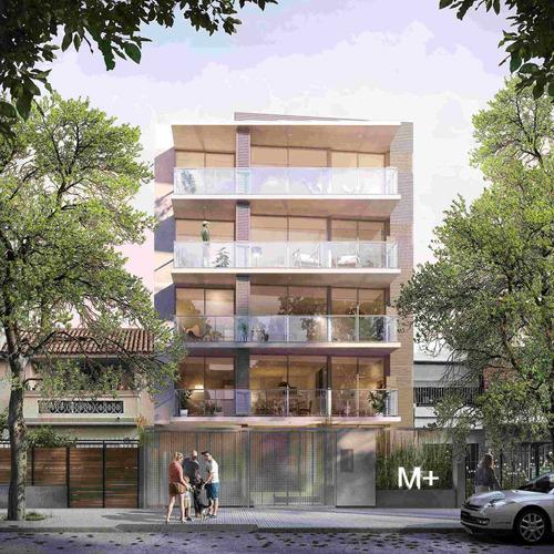 Venta  - 1 Dorm. - Pocitos -  Edificio M+ C/patio