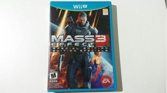 Mass Effect 3 Special Edition Seminovo Wii U Mídia Física