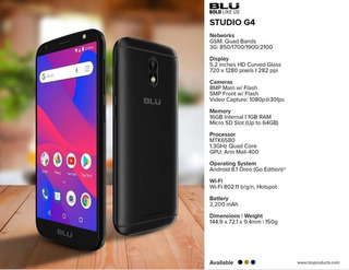 Blu Studio G4 S8700 Blue 16gb-1g