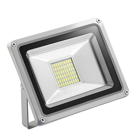 (2 Piezas) Reflector Led 30w Smd5730 12v Dc Bateria Panel