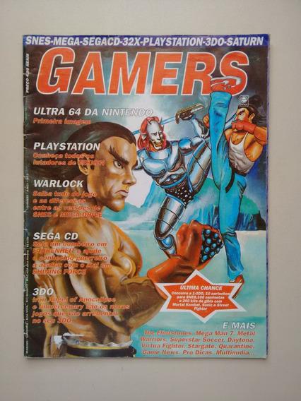 Revista Gamers 3 Playstation Warlock Mega Man Stargate B253
