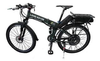 Bicicleta Eléctrica 1000w Plegable Ecobici Batería De Litio