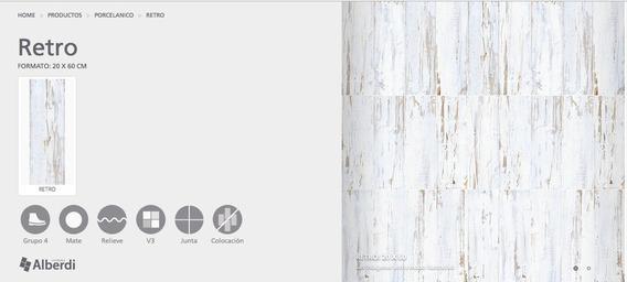 Porcelanico Alberdi Retro 20x60 1º Cal