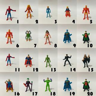 Muñequitos Superheroes Coleccion Jack Dc Marvel Comics