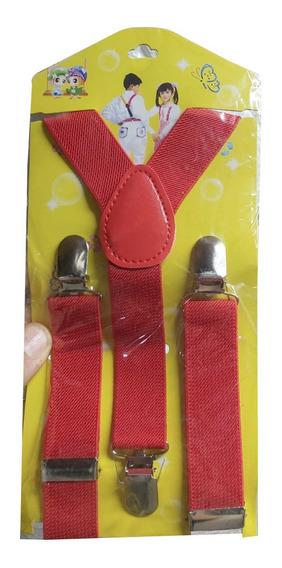 Suspensores Colores Para Niños Niñas Blanco Rojo Amarillo