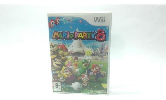Box Mario Party 8 Original Wii Europeu ( Caixa Vazia )