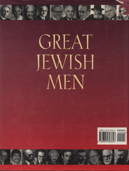 D1233 - Great Jewish Men - Elinor Slater E Robert Slater