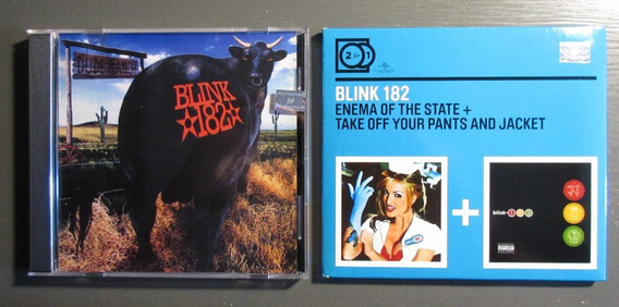 Blink 182 Lote Dude Ranch Enema Of The State Take Off Your P