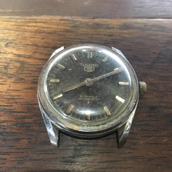 Relógio Seiko 5 De Pulso Antigo A Corda Ñ Automatic 016