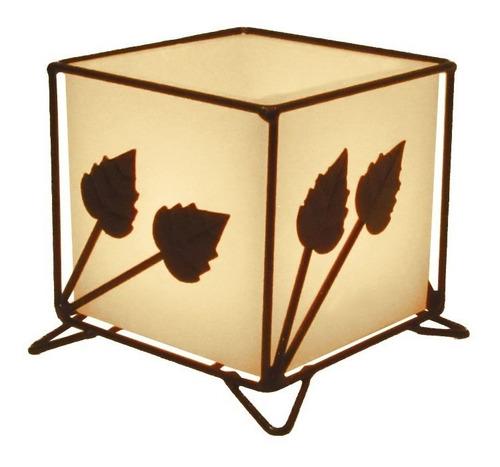 Luminária Caixa Decorativo Porta Vela Lanterna 10 Cm