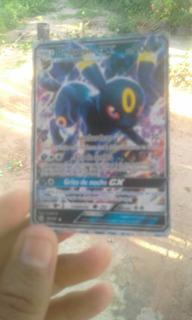 Card De Pokemon Sol E Lua Unbreon Gx