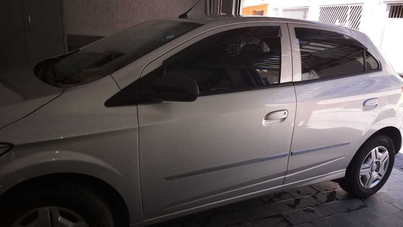 Chevrolet Ônix Lt 1.0 Prata Em Otimo Estado