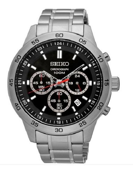 Relógio Seiko Masculino Cronógrafo Sks519b1 P1sx