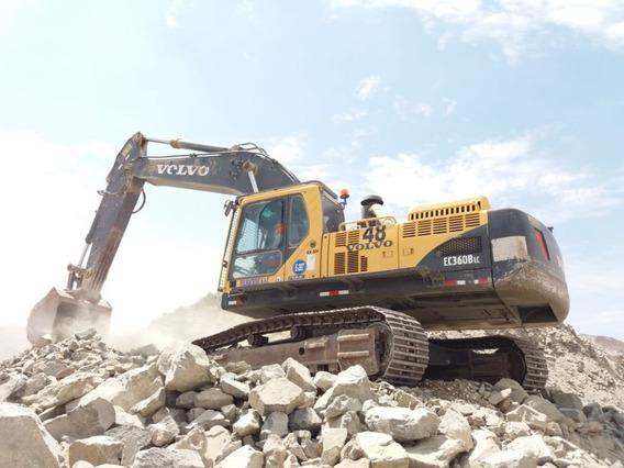 Excavad0ra Volvo Ec360