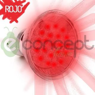 Dicroica Led 1.5w Color Rojo Gu10 220v - Lampara Foco Bulbo