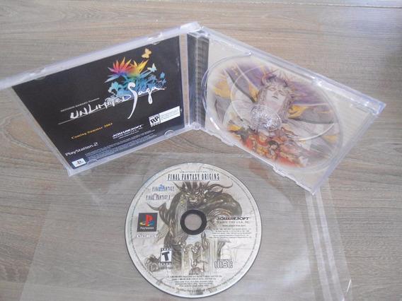 Final Fantasy Origins Psone Psx Playstation 1 Black Label