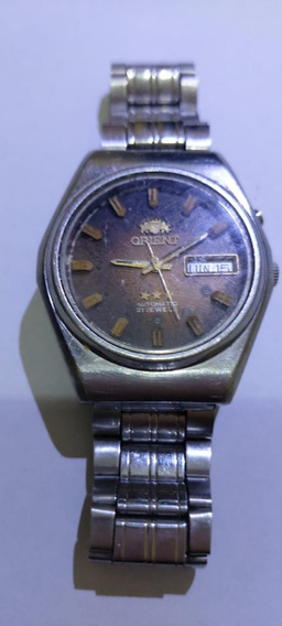 Relógio Orient Automático Antigo Não Funciona